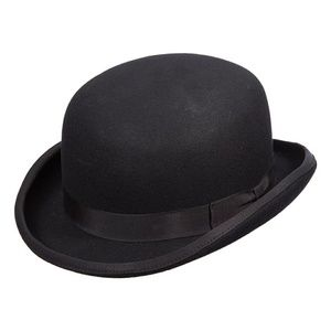 Scala Accessories - Scala Men's Wool Felt Bowler Hat